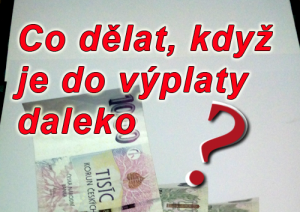 Půjčky před výplatou online ihned pro OSVČ i studenty
